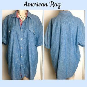 🔥Final Women's XL American Rag Button-Down Shirt